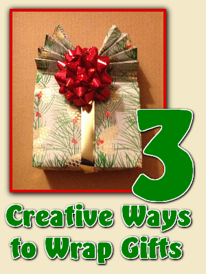 Three Creative Ways to Wrap Gifts - Homemade by Jade