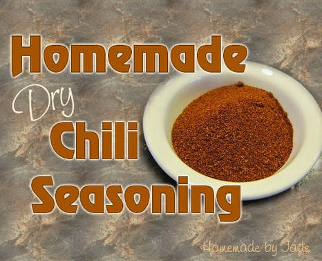 Homemade Dry Chili Seasoning