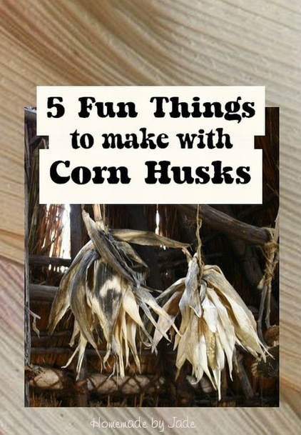 5 Fun Things to Make with Corn Husks