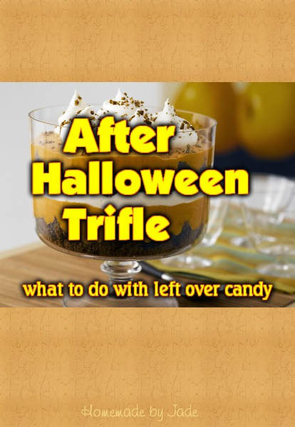 After Halloween Trifle
